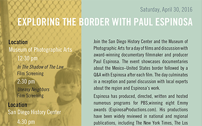 Exploring the Border with Paul Espinosa